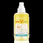 Acheter Vichy Idéal Soleil SPF30 Eau de protection solaire hydratante 200ml à Saint-Maximim