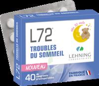 Lehning L72 Comprimés orodispersibles Plq PVC/PVDC/Alu/40 à Saint-Maximim