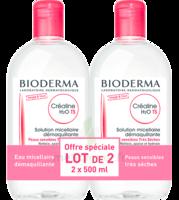 CREALINE TS H2O Solution micellaire sans parfum nettoyante apaisante 2Fl/500ml à Saint-Maximim