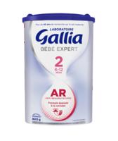 Gallia Bebe Expert Ar 2 Lait En Poudre B/800g à Saint-Maximim