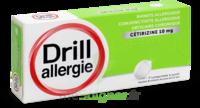 Drill 10 Mg Comprimés à Sucer Allergie Cétirizine Plq/7 à Saint-Maximim
