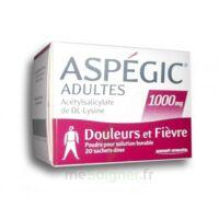 Aspegic Adultes 1000 Mg, Poudre Pour Solution Buvable En Sachet-dose 20 à Saint-Maximim