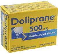 Doliprane 500 Mg Poudre Pour Solution Buvable En Sachet-dose B/12 à Saint-Maximim