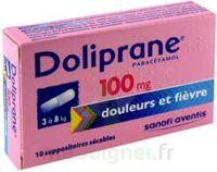 DOLIPRANE 100 mg Suppositoires sécables 2Plq/5 (10) à Saint-Maximim