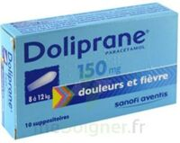 Doliprane 150 Mg Suppositoires 2plq/5 (10) à Saint-Maximim