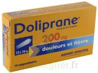 DOLIPRANE 200 mg Suppositoires 2Plq/5 (10) à Saint-Maximim