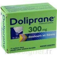 DOLIPRANE 300 mg Poudre pour solution buvable en sachet-dose B/12 à Saint-Maximim