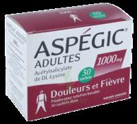 Aspegic Adultes 1000 Mg, Poudre Pour Solution Buvable En Sachet-dose 30 à Saint-Maximim