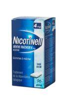 NICOTINELL MENTHE FRAICHEUR 4 mg SANS SUCRE, gomme à mâcher médicamenteuse 8Plq/12 à Saint-Maximim