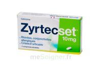 ZYRTECSET 10 mg, comprimé pelliculé sécable à Saint-Maximim