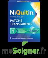 NIQUITIN 21 mg/24 heures, dispositif transdermique Sach/7 à Saint-Maximim