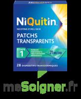 NIQUITIN 21 mg/24 heures, dispositif transdermique Sach/28 à Saint-Maximim