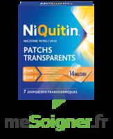 NIQUITIN 14 mg/24 heures, dispositif transdermique Sach/7 à Saint-Maximim