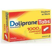DOLIPRANETABS 1000 mg Comprimés pelliculés Plq/8 à Saint-Maximim