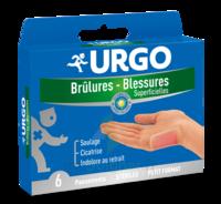 URGO BRULURES-BLESSURES PETIT FORMAT x 6 à Saint-Maximim