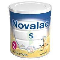 NOVALAC S 2 Lait en poudre satiétant 2ème âge B/800g à Saint-Maximim