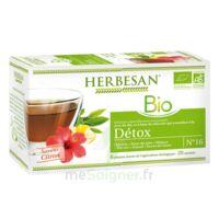 Herbesan Infusion Bio Tisane Détox 20 Sachets à Saint-Maximim