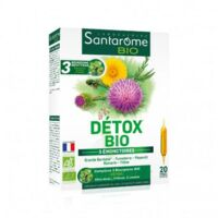 Santarome Bio Détox Solution Buvable 20 Ampoules/10ml à Saint-Maximim
