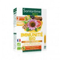 Santarome Bio Immunité Solution Buvable 20 Ampoules/10ml à Saint-Maximim