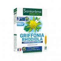 Santarome Bio Griffonia Rhodiola Solution Buvable 20 Ampoules/10ml à Saint-Maximim