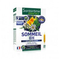 Santarome Bio Sommeil 8h Solution Buvable 20 Ampoules/10ml à Saint-Maximim