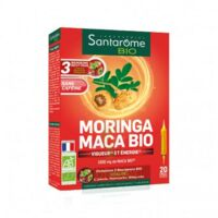 Santarome Bio Morinca Maca Solution Buvable 20 Ampoules/10ml à Saint-Maximim