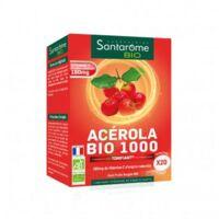 Santarome Bio Acérola 1000 Comprimés à Croquer 2t/10 à Saint-Maximim