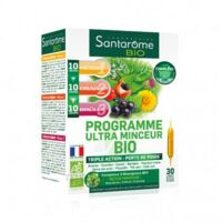 Santarome Bio Programme Ultra Minceur Solution Buvable 30 Ampoules/10ml