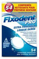 Fixodent Pro Comprimés Nettoyant Fraîcheur Longue Durée Pour Prothèse Dentaire B/54 à Saint-Maximim