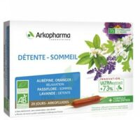ARKOFLUIDE BIO ULTRAEXTRACT Solution buvable détente sommeil 20 Ampoules/10ml à Saint-Maximim