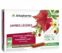 Arkofluide Bio Ultraextract Solution buvable jambes légères 20 Ampoules/10ml à Saint-Maximim