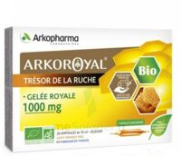 Arkoroyal Gelée royale bio 1000 mg Solution buvable 20 Ampoules/10ml à Saint-Maximim