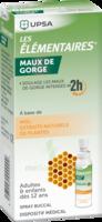 LES ELEMENTAIRES Solution buccale maux de gorge adulte 30ml à Saint-Maximim