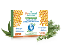 Puressentiel Respiratoire Pastilles Respiratoire aux 3 miels aromatiques - 18 pastilles à Saint-Maximim