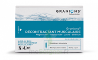 Granions Décontractant musculaire Solution buvable 2B/30 Ampoules/2ml à Saint-Maximim