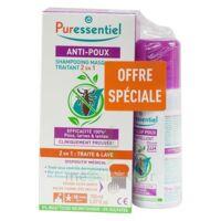 Puressentiel Anti-poux Shampooing masque traitant 2 en 1 Anti-Poux avec peigne - 150 ml + Spray Répulsif à Saint-Maximim