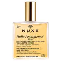 Huile prodigieuse® riche - huile nourrissante multi-fonctions visage, corps, cheveux100ml à Saint-Maximim