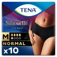 Tena Lady Silhouette Slip Absorbant Noir Normal Médium Paquet/10 à Saint-Maximim