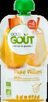 Good Goût Alimentation infantile poire williams Gourde/120g à Saint-Maximim
