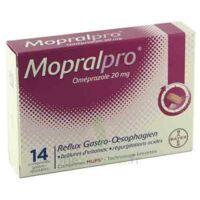 Mopralpro 20 Mg Cpr Gastro-rés Film/14 à Saint-Maximim