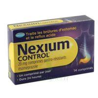 Nexium Control 20 Mg Comprimés Gastro-résistants Plq/14 à Saint-Maximim