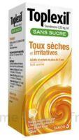 TOPLEXIL 0,33 mg/ml sans sucre solution buvable 150ml à Saint-Maximim