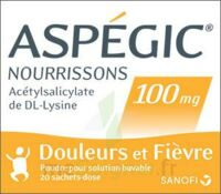 Aspegic Nourrissons 100 Mg, Poudre Pour Solution Buvable En Sachet-dose à Saint-Maximim