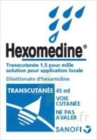 HEXOMEDINE TRANSCUTANEE 1,5 POUR MILLE, solution pour application locale à Saint-Maximim
