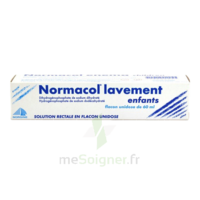 NORMACOL LAVEMENT ENFANTS, solution rectale, récipient unidose à Saint-Maximim