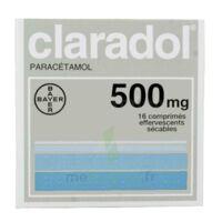 CLARADOL 500 mg, comprimé effervescent sécable à Saint-Maximim