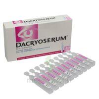 Dacryoserum Solution Pour Lavage Ophtalmique En Récipient Unidose 20unidoses/5ml à Saint-Maximim