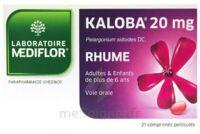 KALOBA 20 mg Comprimé pelliculé Plq/21 à Saint-Maximim