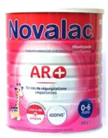 NOVALAC AR + 0-6 MOIS Lait pdre B/800g à Saint-Maximim
