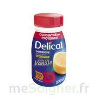 Delical Boisson Hp Hc Concentree Nutriment Vanille 4bouteilles/200ml à Saint-Maximim